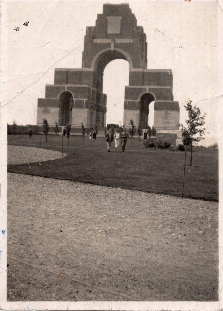 Thiepval Memorial August 2nd, 1937