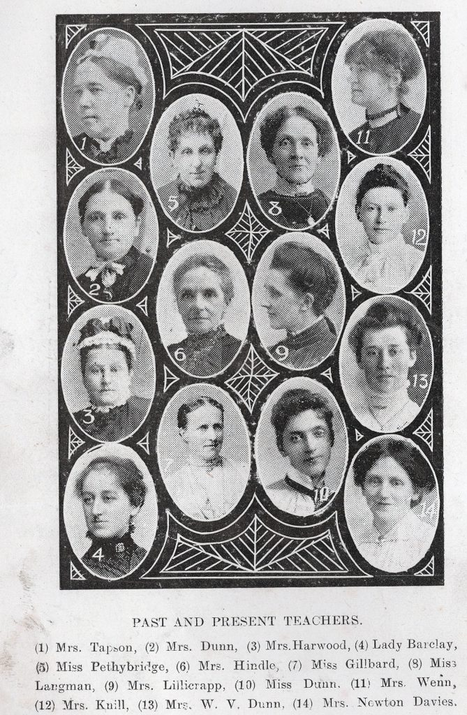 Wesleyan Past and Present Teachers 1916