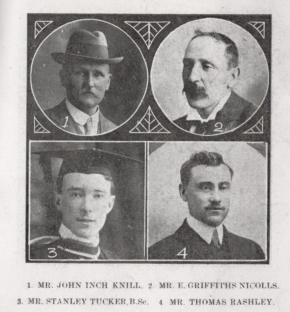 Launceston Wesleyan Preachers 1916