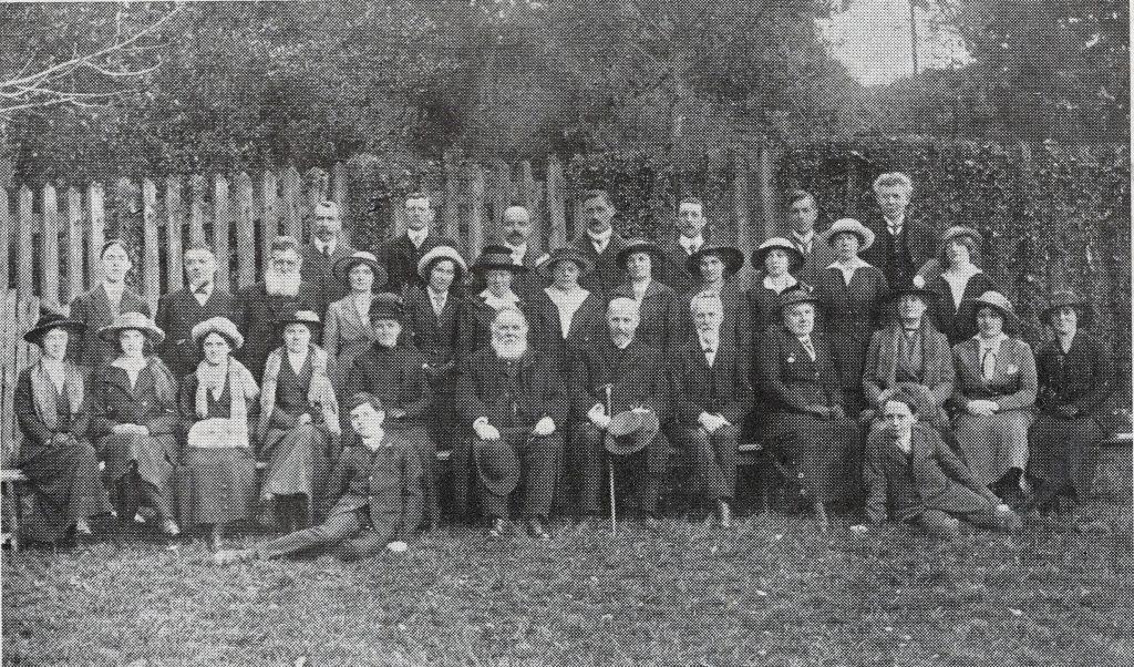 Launceston Wesleyan Teachers and Officers June 1916