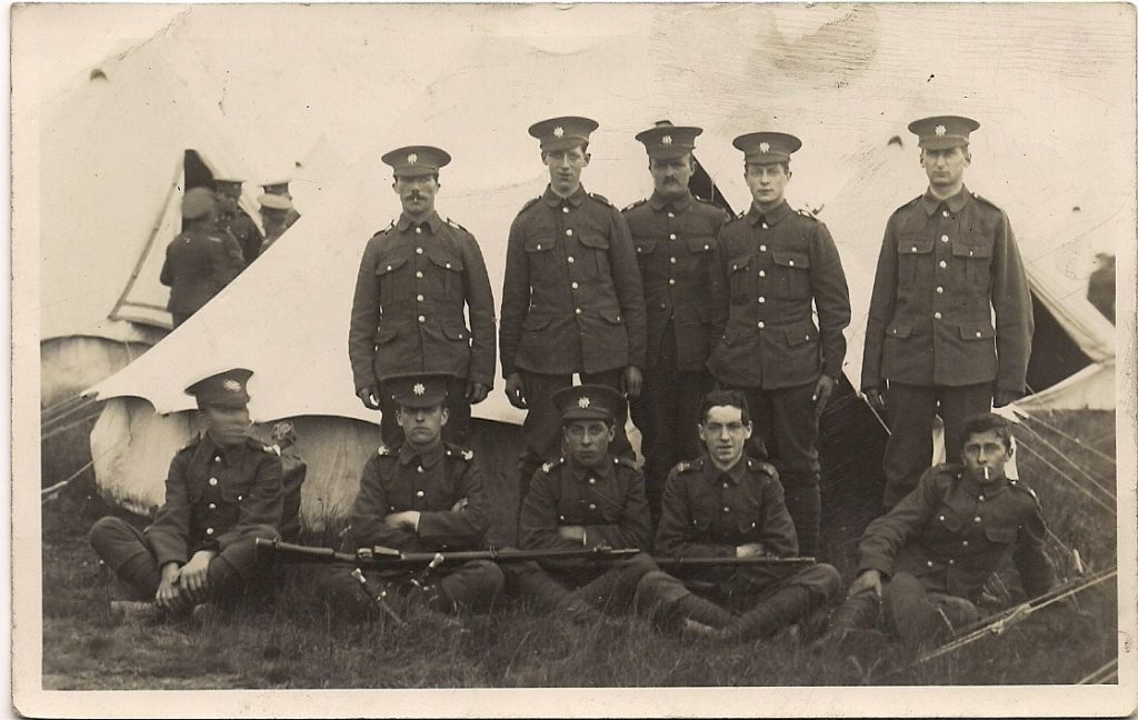 Devonshire Regiment with Sydney Moon and William Tubb