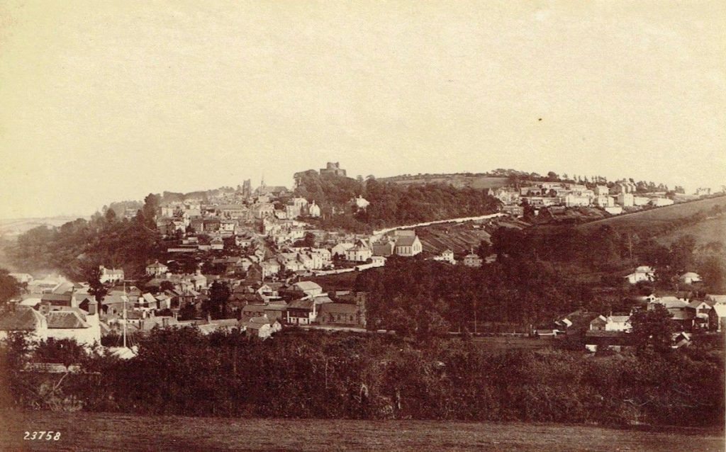 Launceston from St Stephens in the 1880's
