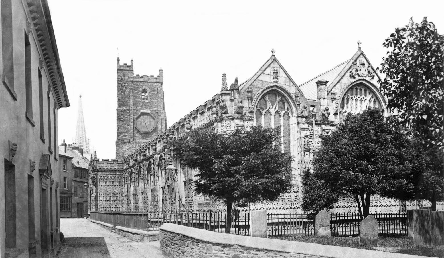 St Marys c.1860. By Henry Hayman