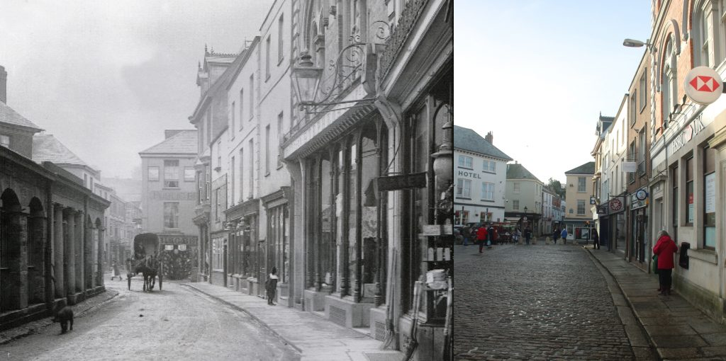 Back Lane 1912 Broad Street 2019
