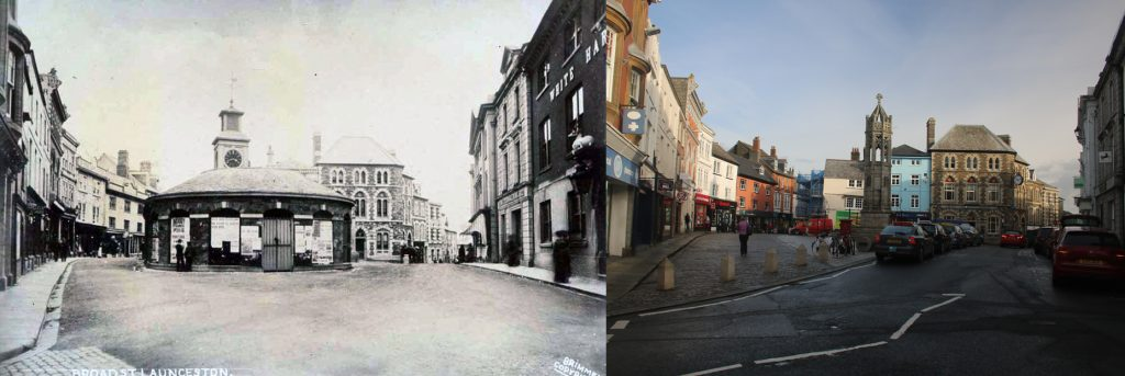 Launceston Town Centre 1912 to 2019