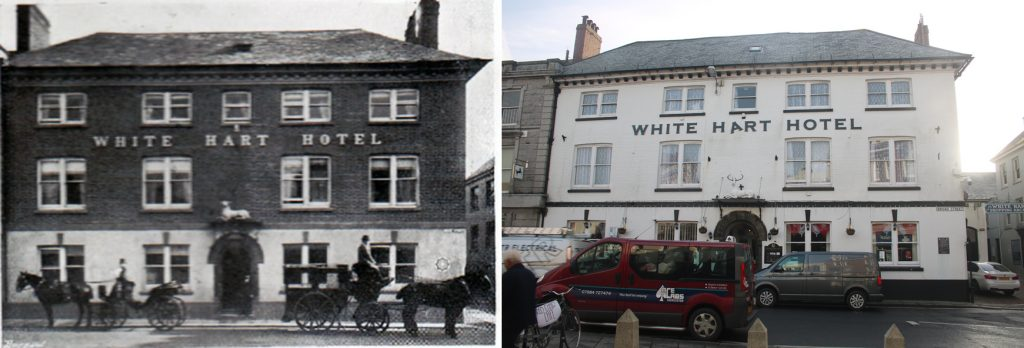 The White Hart 1910 to 2019