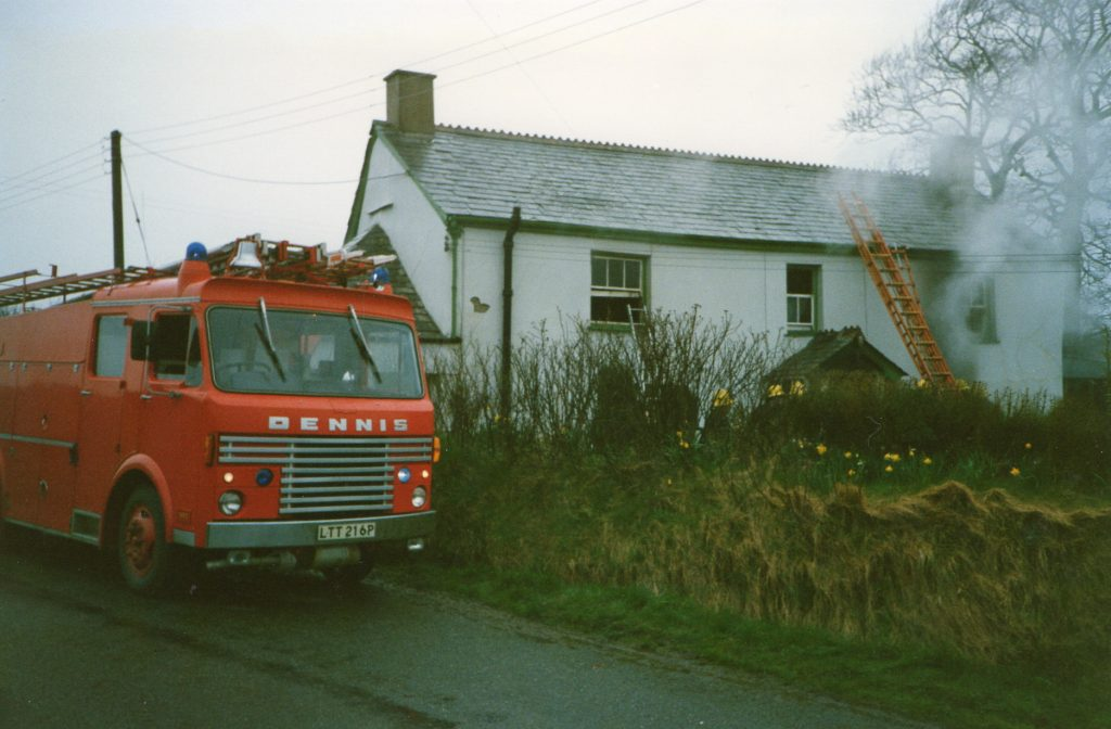Broadwood House Fire, March 20th, 1988.