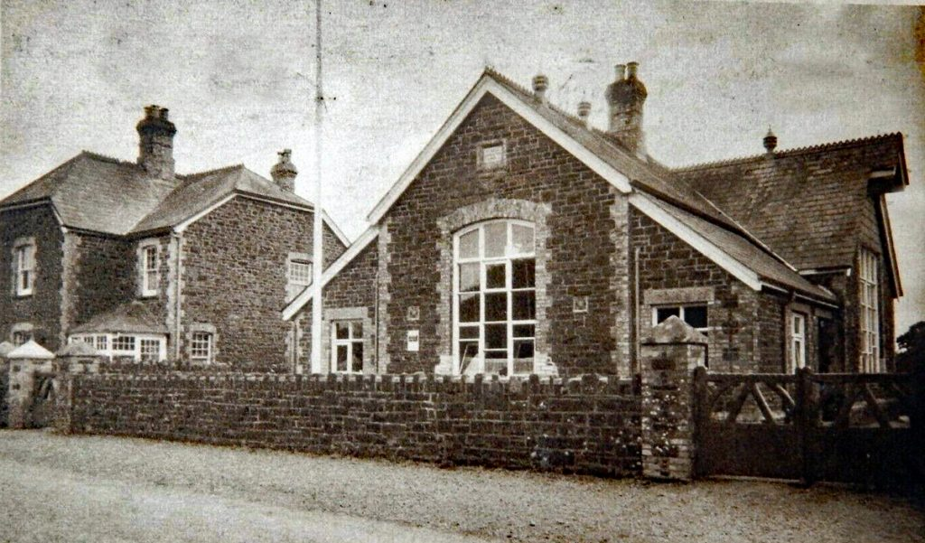 St. Giles on the Heath Primary School, 1945.