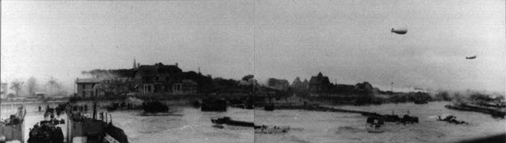 D-Day Landings 1944 at Berniere-sur-Mer. Photo courtesy of Paul Mincher.