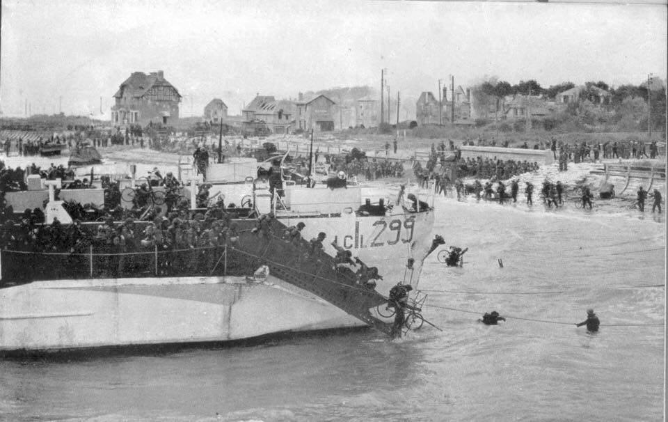D-Day Landings 1944. Photo courtesy of Paul Mincher.