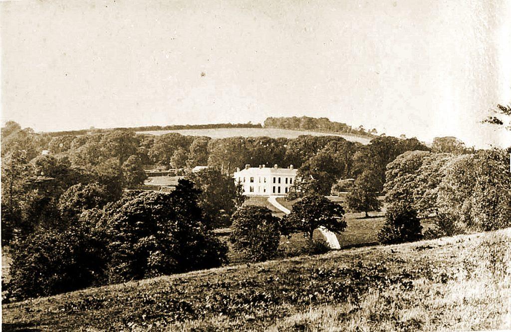 Trelaske Manor, Lewannick 1870.