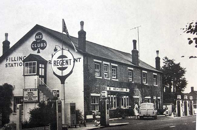 The Ace of Clubs, Lewdown in the early 1960's.
