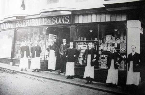 Barriball and Sons, Curch Street, Launceston