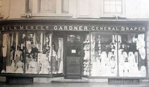 Gardner's Drapery Shop, Launceston