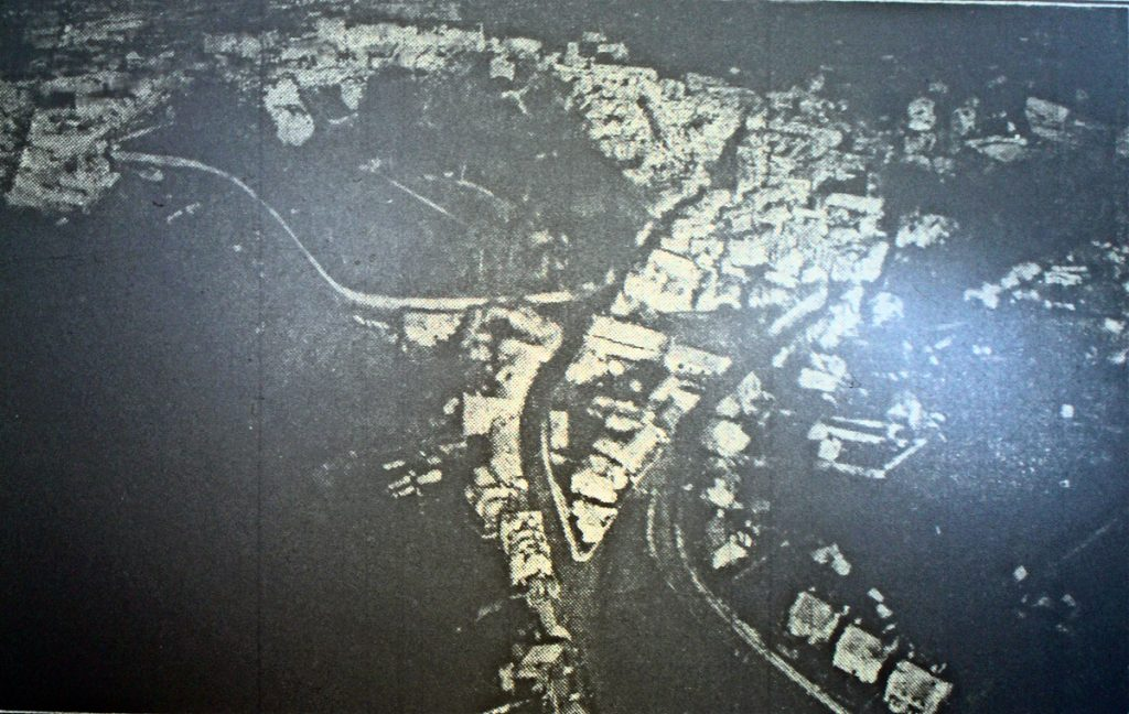 Launceston Aerial in 1924, taken by Maurice Prout.