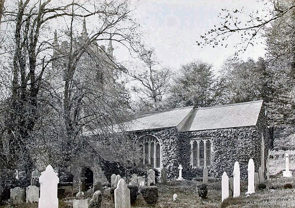 St. Peters Church, Lewtrenchard c.1948