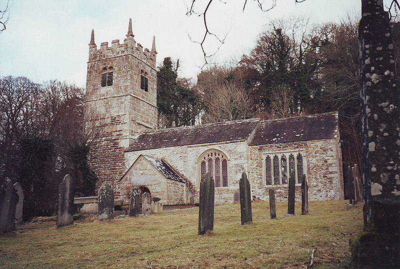 St. Peters Church, Lewtrenchard