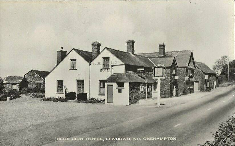 The Blue Lion Inn, Lewdown.
