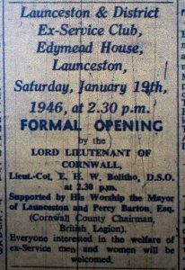 Edymead House Official Opening 1946