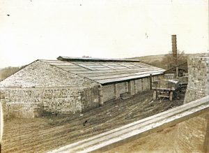 Launceston Brick Works in the early 1920's.