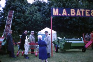 M.A. Bate stand at the Launceston Show in 1962. Photo courtesy of Chris Gynn