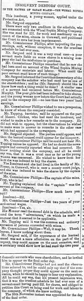 Friday 10 November 1854