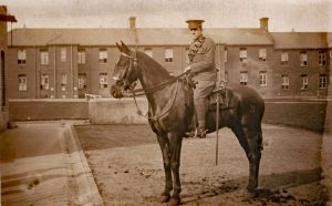 Private Harold Broad of the Devon Yeomanry