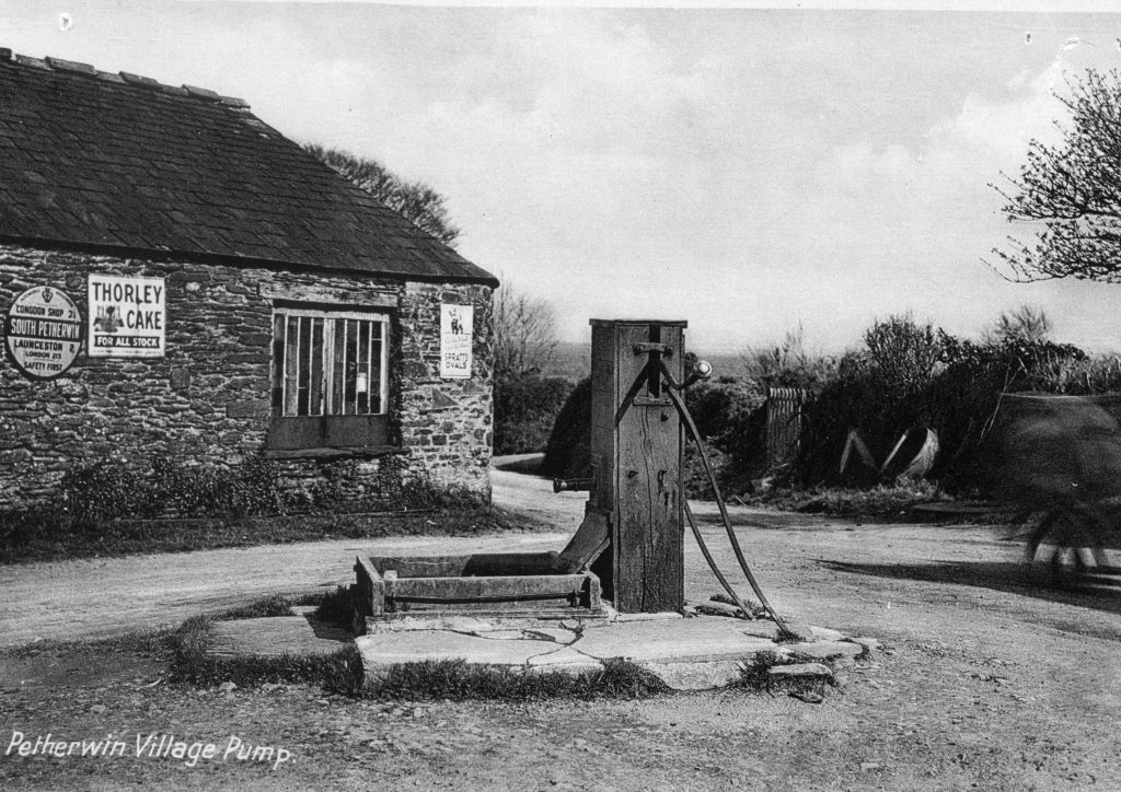 The Black Smithy and Village Pump, South Petherwin.