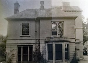 Edymead House in the 1950s. Photo courtesy of Beryl Parish