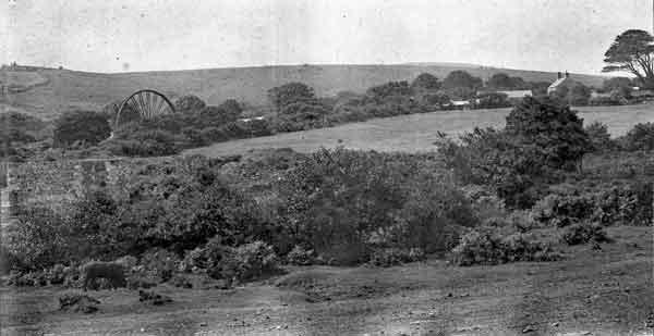 Treburland Farm and Mine in 1900.