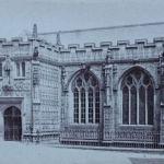 St. Mary Magdalene Church, Launceston c.1870. Photo by Henry Hayman