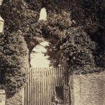 Launceston Castle's western entrance.