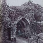 Launceston Castle's eastern entrance. By Henry Hayman