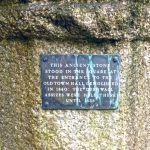 Launceston Assizes Stone plaque