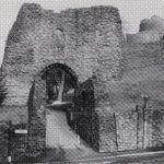 Castle western entance in 1982.