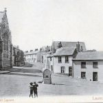 Launceston Guildhall Square c.1904