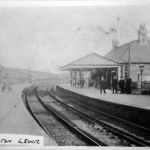 The LSWR Station at Launceston in the 1900's.