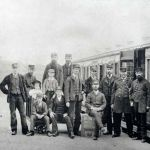 Launceston Railway Crew c.1900.