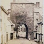 The Southgate at Launceston in 1870.