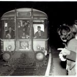 The last train to call at Launceston Railway Station in October 1966.