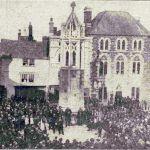 The dedication of the Launceston war memorial in October 1921