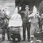 1908 Launceston Carnival Clown Bank.