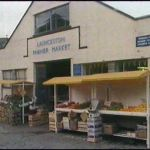 Launceston Pannier Market in the early 1980's.
