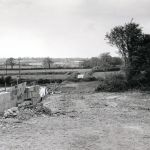 The Launceston Link Road at the start of its construction in 1974.