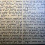 1936 coach fire at Landerslake, Lewannick report.