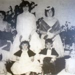1961 Altarnun Carnival Queen Dawn Stevens