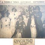 1954 Altarnun Carnival Queen Miss K. M. Sanders.