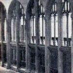 Altarnun Church Rood Screen in 1933.