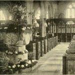 Altarnun Church interior in 1901