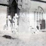 Celtic Cross in Altarnun Churchyard 1937.